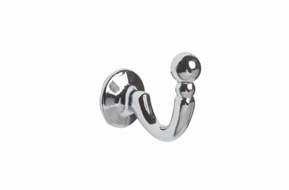 Speedy Palma Metal Curtain Tieback Hooks (Pair) - Chrome